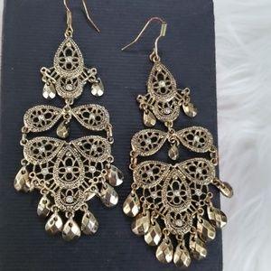 Women's ethnic Indian arabian dangling earrings